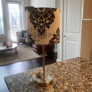 Other - Table lamp black and silver